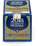 2018Panini Rusia Copa Mundial de la FIFA Fútbol Pegatinas Sellado de fábrica caja de 50unidades–Fanáticos auténtico Certificado