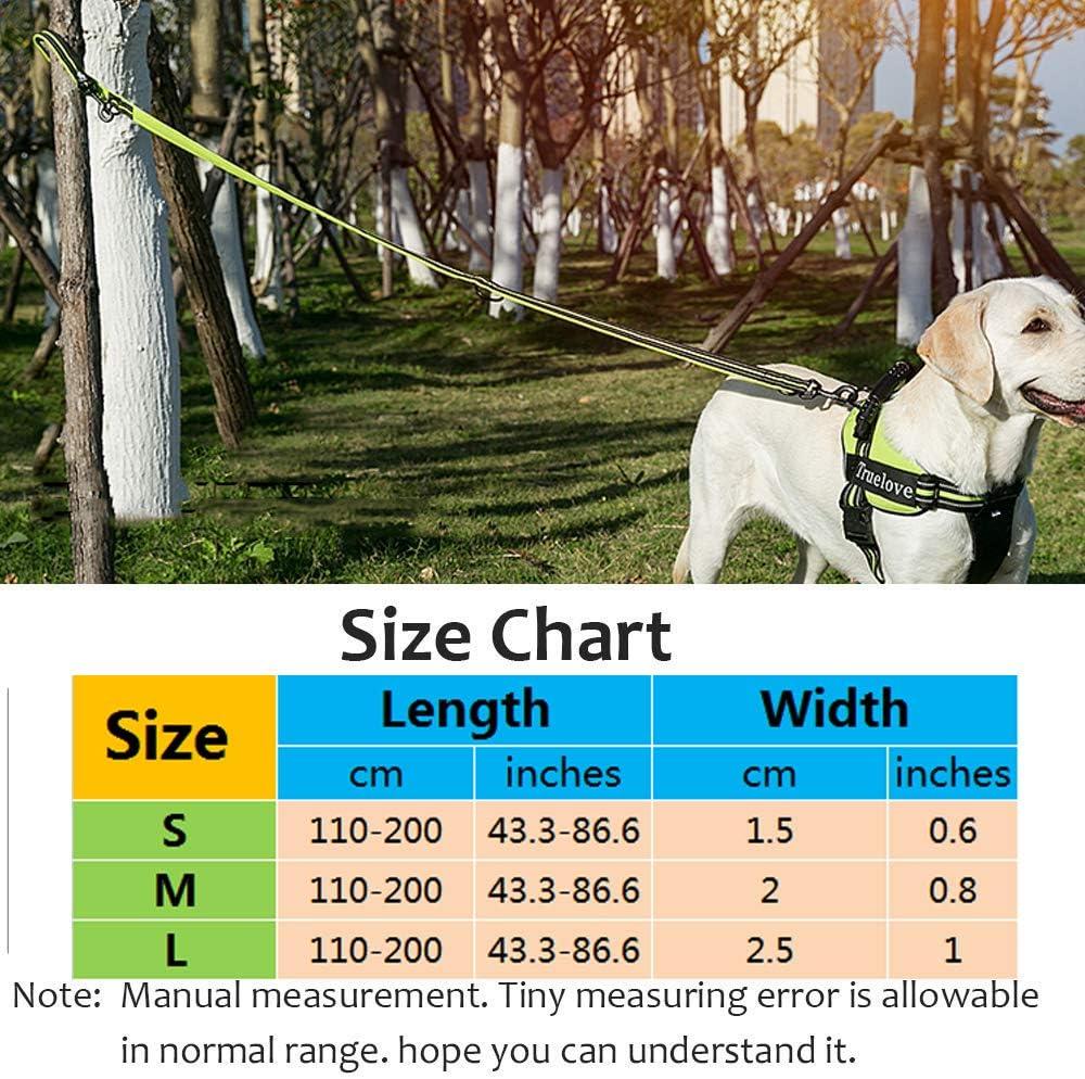 Tineer Pet einstellbar 2 Hunde H/ände frei Nylon Multi-funktionale reflektierende Hundeleine f/ür Walking Training Hundeleinen Leashes
