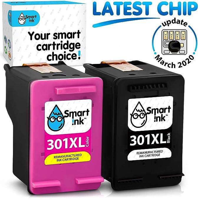 Smart Ink Reemplazo Compatible del Cartucho de Tinta 301XL 301 XL ...