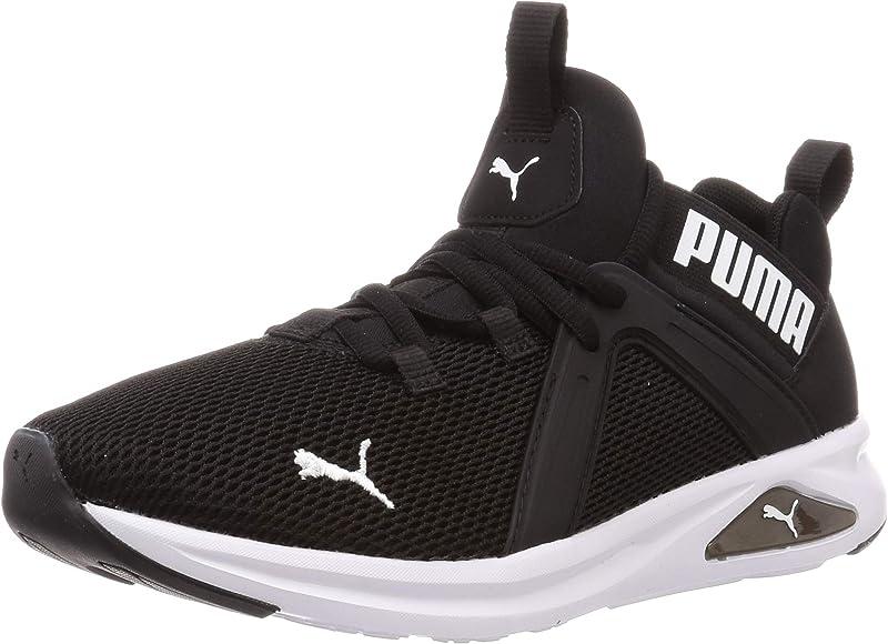 Puma Mujer Enzo 2 Zapatillas Deportivas para Correr con Cordones Negro/Blanco 38.5 EU: Amazon.es: Zapatos y complementos