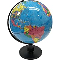 GeoKraft Educational Political 12 Inches Laminated Globe with Plastic Arc and Base