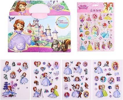 Amazon Com Neilden 3d Disney Frozen Stickers 100 For Kids 2 8