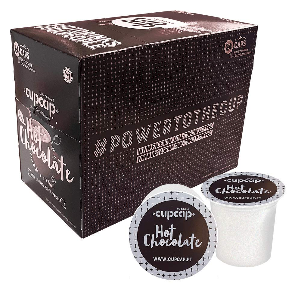 48 Keurig Compatible Hot Chocolate Pods Amazoncouk Grocery