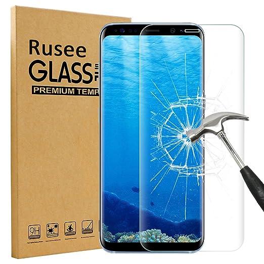 118 opinioni per Galaxy S8 Pellicola Protettiva, Rusee