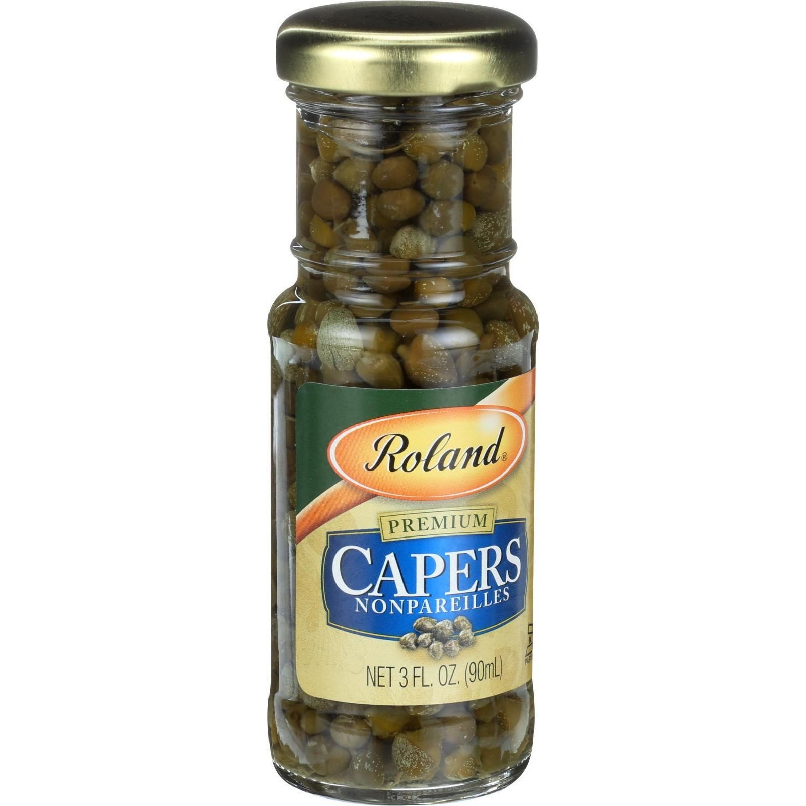 Roland Products Capers - Nonpareille - 3 oz - Case of 3