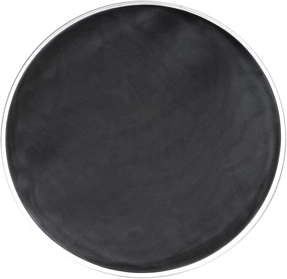 Gyratedream 10 Inch Black Double Layer Silent Mute Drums Mesh Head Silent Mute Pad