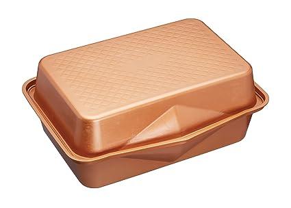 Masterclass Smart Ceramic 42.5 X 31.5 Cm Heavy-duty Stackable Roasting Pan Set Backbleche & -formen