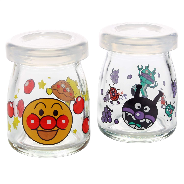 Anpanman glass Variety pot pair ( with lid) 14-179-6 by Otsuka glass