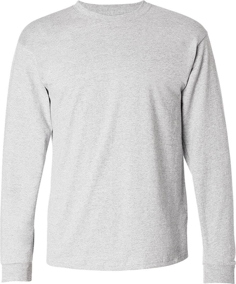 77534eb9bfab Hanes Mens 6.1 oz. Tagless ComfortSoft Long-Sleeve T-Shirt (5586) |  Amazon.com