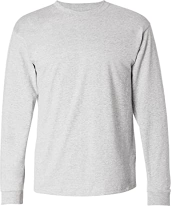 c1e6382b261 Hanes Mens 6.1 oz. Tagless ComfortSoft Long-Sleeve T-Shirt (5586 ...