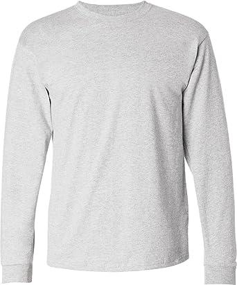 8da8ec3bade2 Hanes Mens 6.1 oz. Tagless ComfortSoft Long-Sleeve T-Shirt (5586 ...