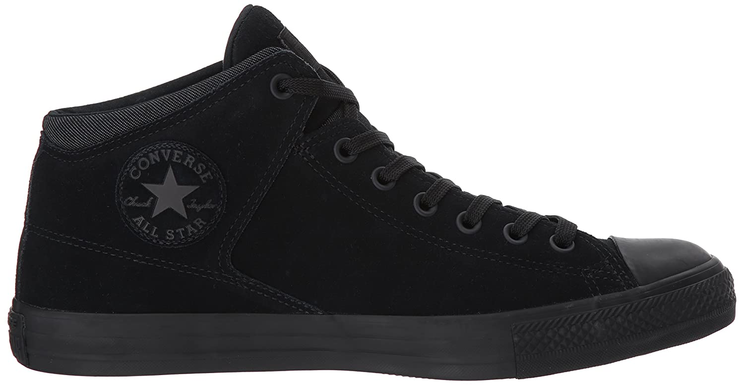 Converse Men's Chuck Taylor High Street Mid Top with Thermal Lining B06XHBCQSD 9 B(M) US Women / 7 D(M) US Men|Black/Black