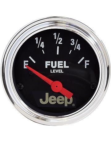 auto meter 880243 jeep electric fuel level gauge