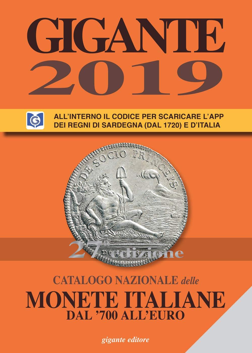 Gigante 2019. Catalogo nazionale delle monete italiane dal 700 alleuro: Amazon.es: Gigante, Fabio: Libros en idiomas extranjeros