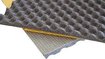 Silent Coat Absorber 15mm 4 Sheet Bulk Pack Sound Absorber Noise Proofing Flexible Foam
