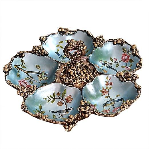 Amazon Com Dabenxiong Decorative Tray Antique Style Snack