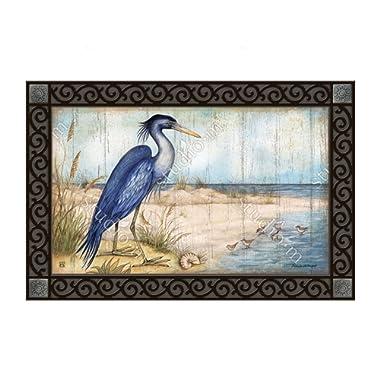 MatMates Doormat Love the View Heron #11641