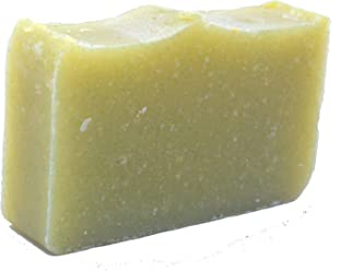 Old fashioned Hemp Oil & Tea Tree Shampoo Bar (3.5 Oz) – Solid Shampoo Bar, No Conditioner needed- Phthalate Free - Paraben Free - Sulfate Free- Organic and All-Natural by Falls River Soap Company