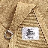Ollieroo Shade Sail UV Block Fabric Patio Outdoor