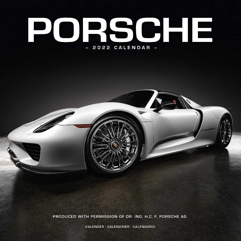 Calendrier Stock Car 2022 Porsche Calendar  Calendars 2021   2022 Wall Calendars   Car