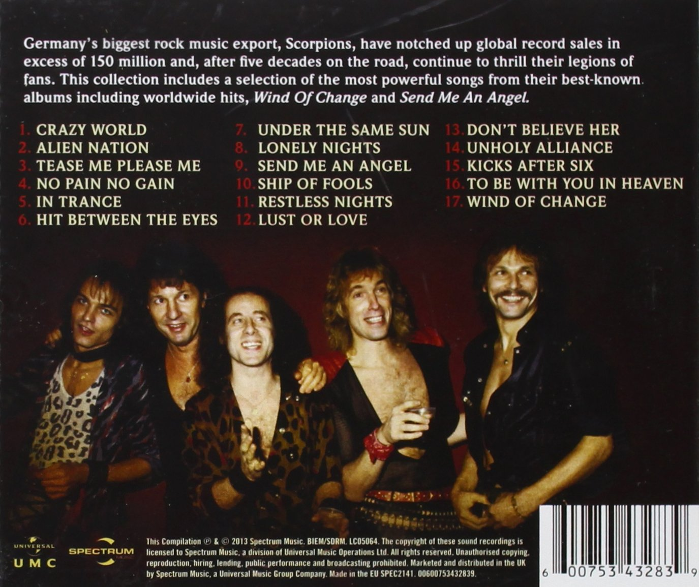 Wind Of Change: The Collection by Scorpions: Amazon.co.uk: Music