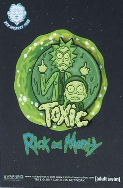 Pin Rick y Morty Toxicos