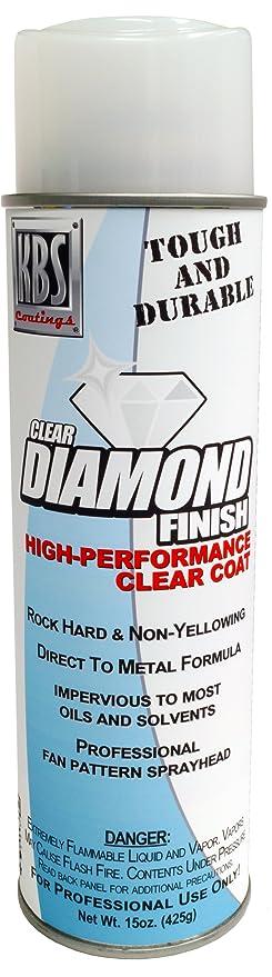 KBS Coatings 8114 High 1 Pack Diamond Finish Clear Aerosol Gloss