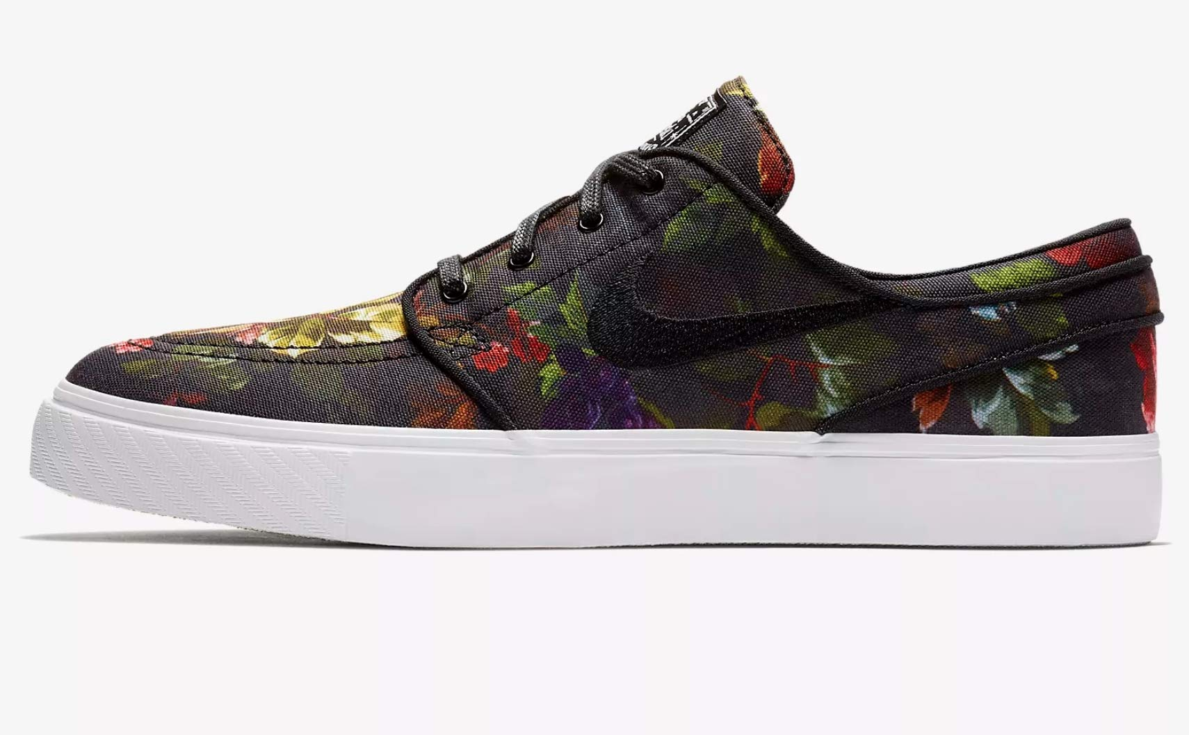 the latest 6017c 69afb Galleon - Nike Zoom Stefan Janoski CNVS Mens Skateboarding-Shoes 615957-900 5.5  - Multi-Color Black-White-Gum Light Brown
