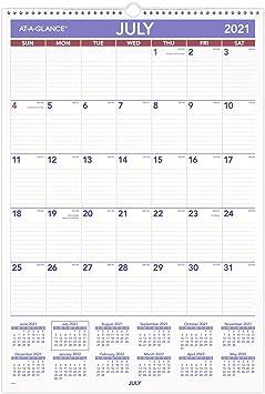 At A Glance Wall Calendar 2022.Amazon Com Academic Wall Calendar 2021 2022 At A Glance Monthly 15 1 2 X 22 3 4 Large For School Teacher Student Ay328 Office Products
