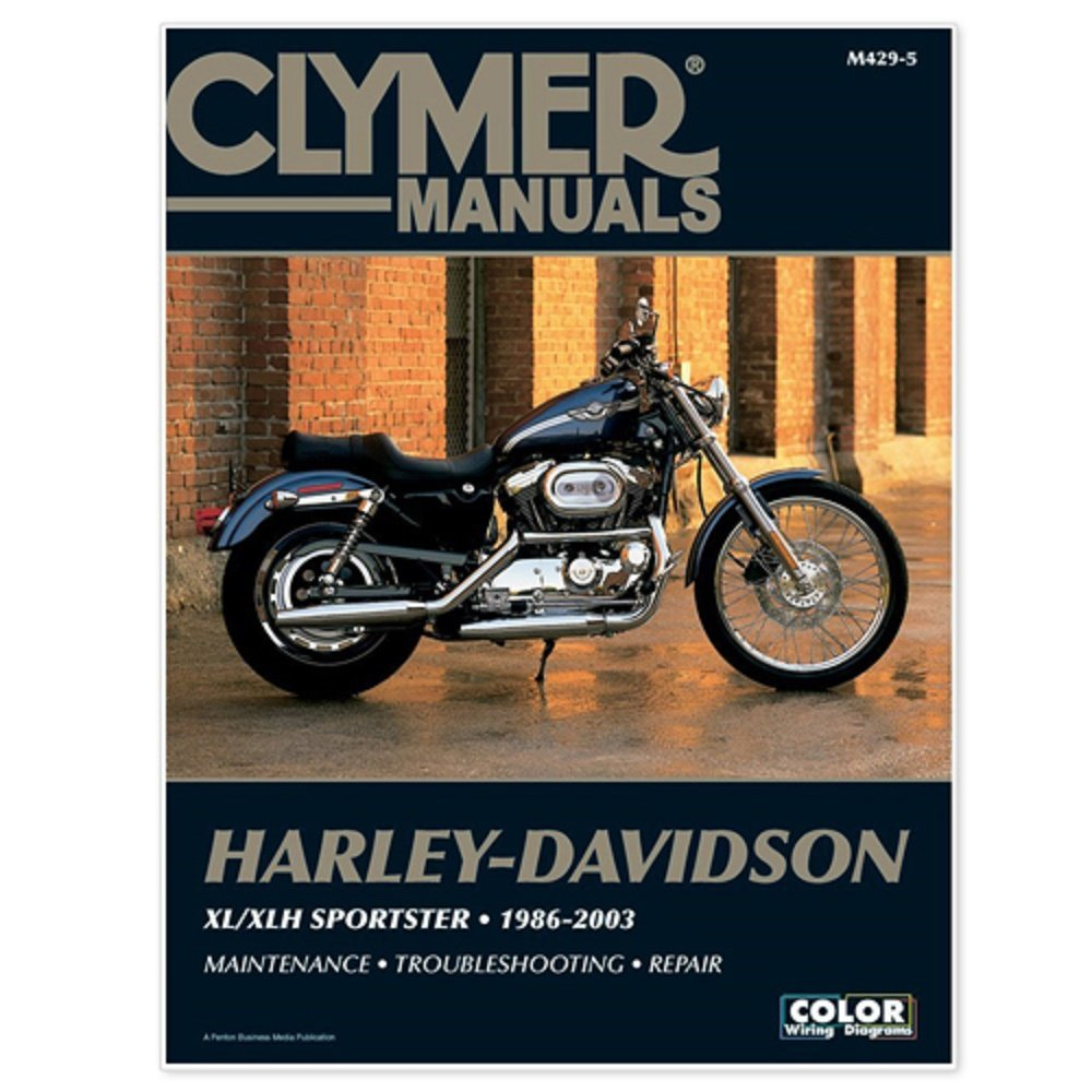 Amazon.com: Clymer #M429-5 Repair Manual For Harley¦£??Davidson XL/XLH  Sportsters (4201-0169): Automotive