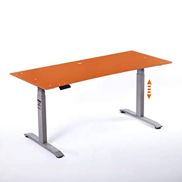 moebel-eins Office One - Mesa de Escritorio (Regulable, Tablero de ...