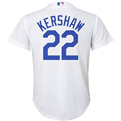 43e48a51b8f Clayton Kershaw Los Angeles Dodgers White Infants Toddler Cool Base Home  Jersey (12 Months)