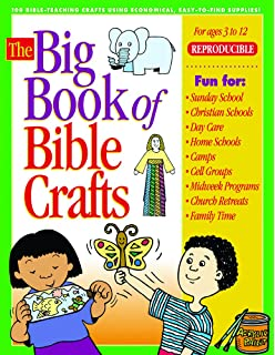The Big Book Of Bible Crafts 100 Teaching Using Economical Easy