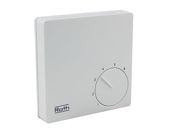 Roth Basic Line H 24 V termostato de sala de regulador de la ...