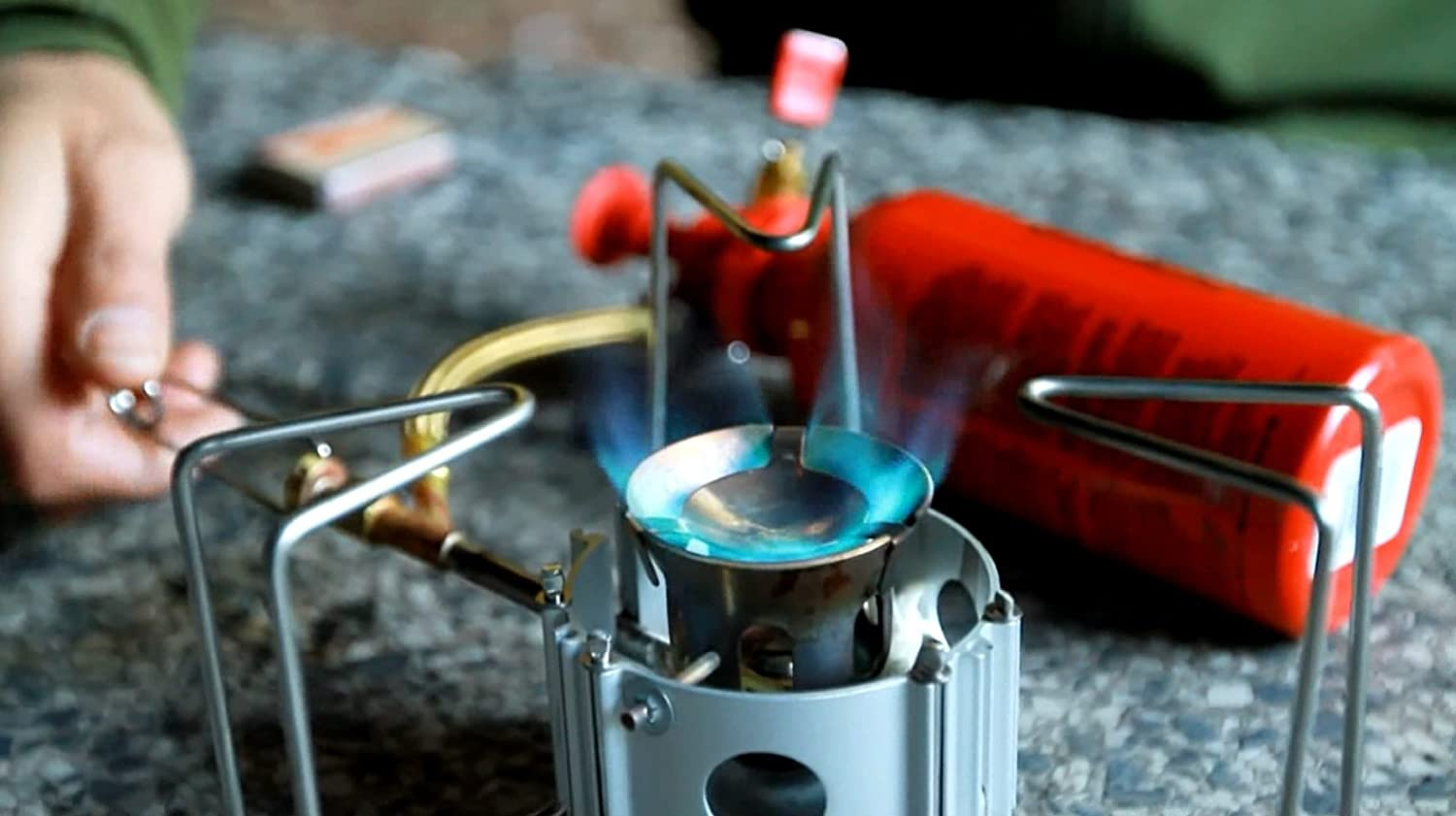 Boiling water is the best way to ensure water is safe to drink. The MSR Dragonfly coupled with a pot is a great option in an emergency or in the backcountry. It runs on kerosene, white gas, diesel, and unleaded.