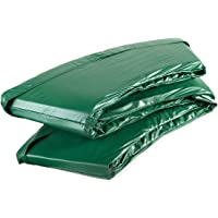 Ampel 24 Deluxe trampoline randafdekking, passend voor trampoline Ø 183 cm, scheurbestendige veerafdekking en groene UV…