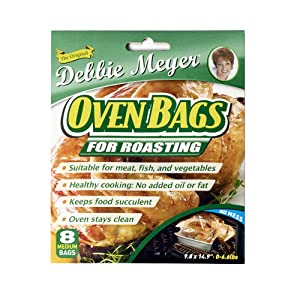 Debbie Meyer Oven Bags, 8-Count, Medium