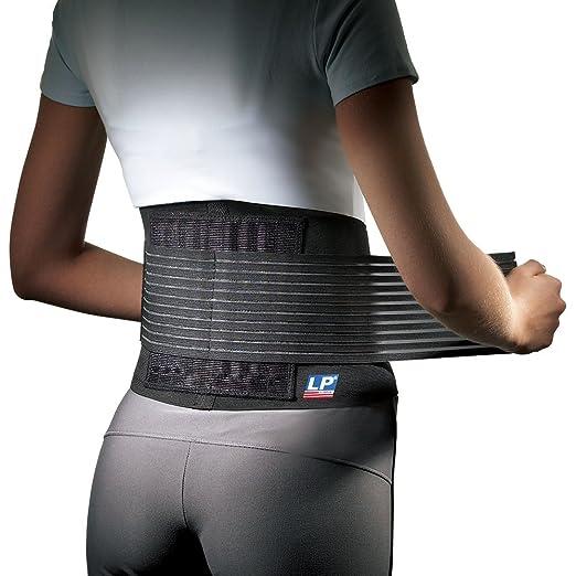 Elastische Rückenbandage mit Stabilisierungsstäben LP Support 919