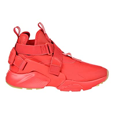 NIKE Air Huarache City Women's Shoes Speed Red/Speed Red/Black AH6787-600