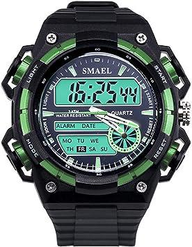Blisfille Reloj con Numeros Grandes Reloj para Buceo Reloj Digital Sumergible Reloj Deporte Chica Reloj Hombre Resistente: Amazon.es: Deportes y aire libre