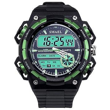 Blisfille Reloj con Numeros Grandes Reloj para Buceo Reloj Digital Sumergible Reloj Deporte Chica Reloj Hombre