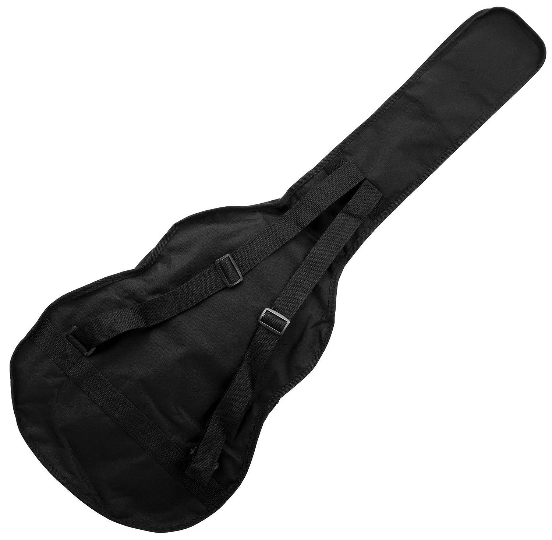 Rocktile BAG Eco bolsa de guitarra clásica 4/4 negro: Amazon.es ...
