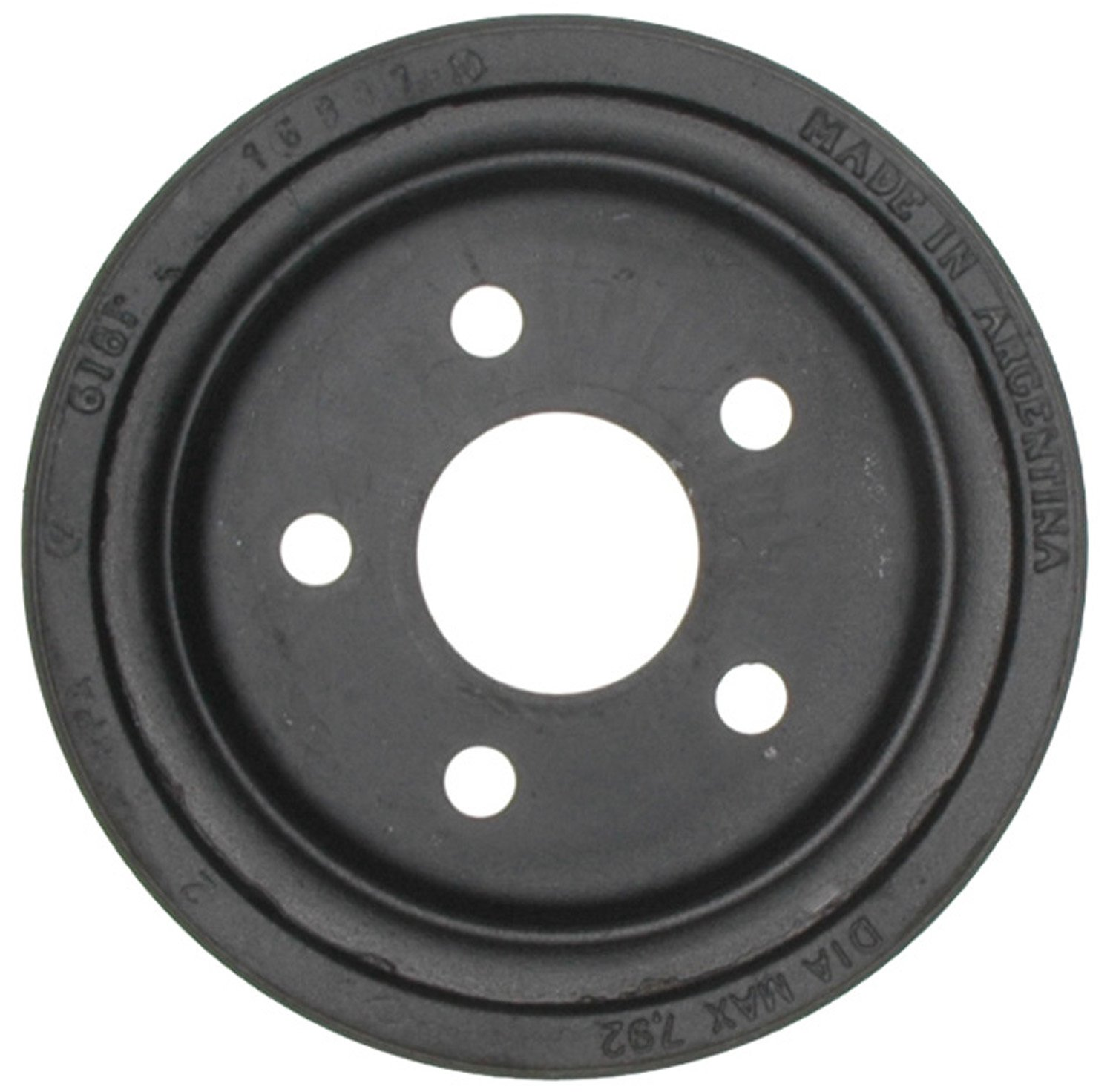 ACDelco 18B99 Professional Rear Brake Drum Assembly