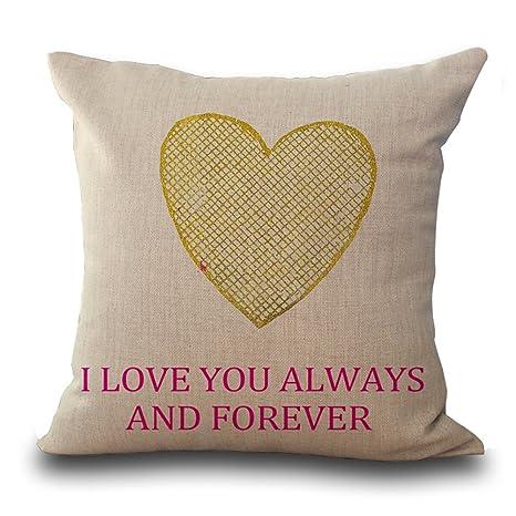 Love Print Kissenbezug Throw Kissenbezug Fur Wohnzimmer Schlafzimmer