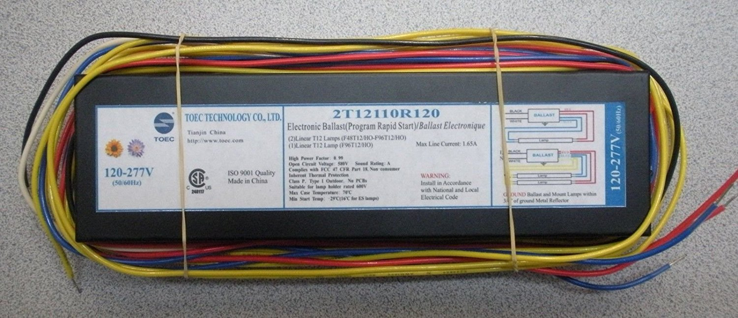 Electronic Tanning Bed Ballast Replaces Nova Ballast and Triad 493B2