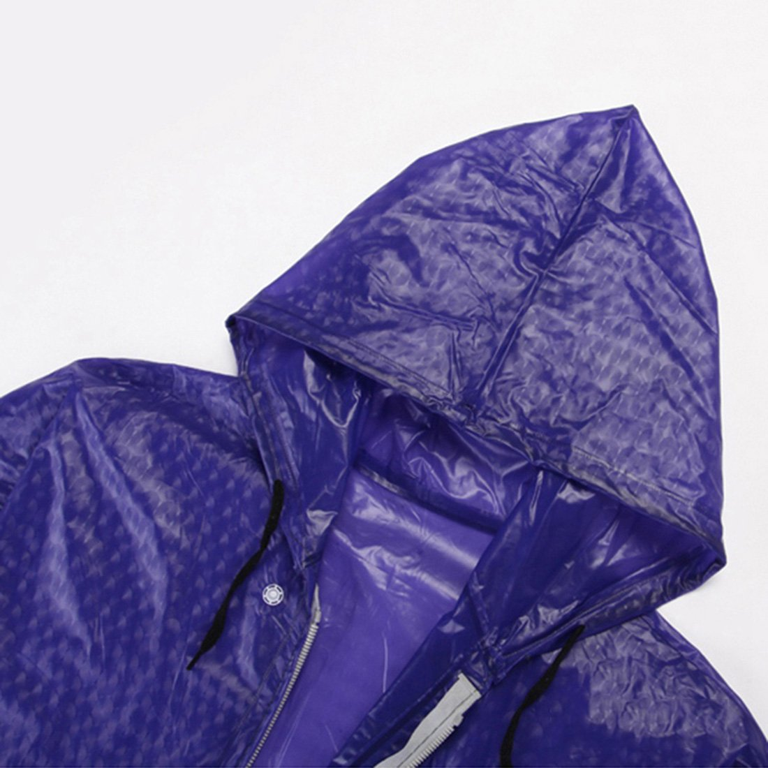 Freahap Regenmantel Raincoat Regenponcho Regenmantelanzug Erwachsene Dunkelblau