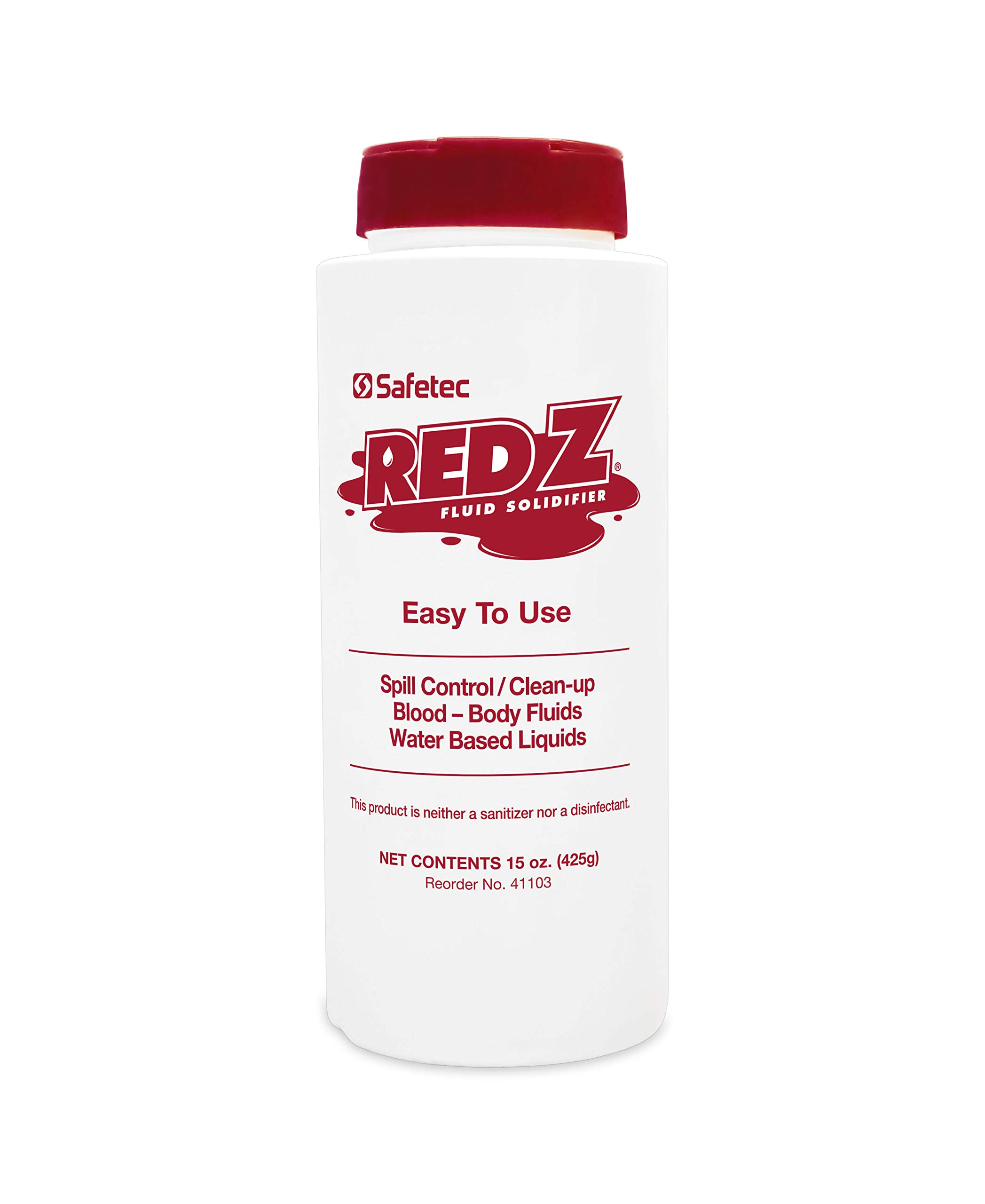 Safetec Red Z Spill Control Solidifier - 15