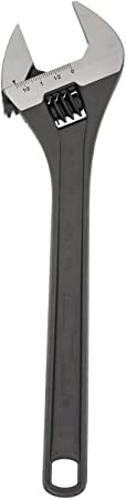 Channellock 815N Adjustable Wrench Black Phosphate Coated 15-Inch