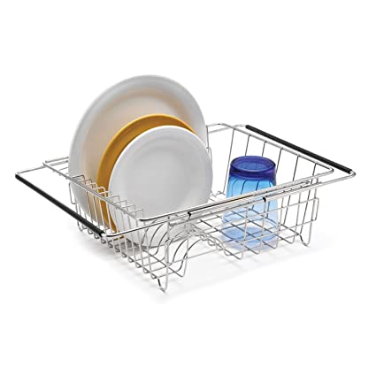Amazon Com Polder 6216 75rm In Sink Over Sink Stainless Steel Dish