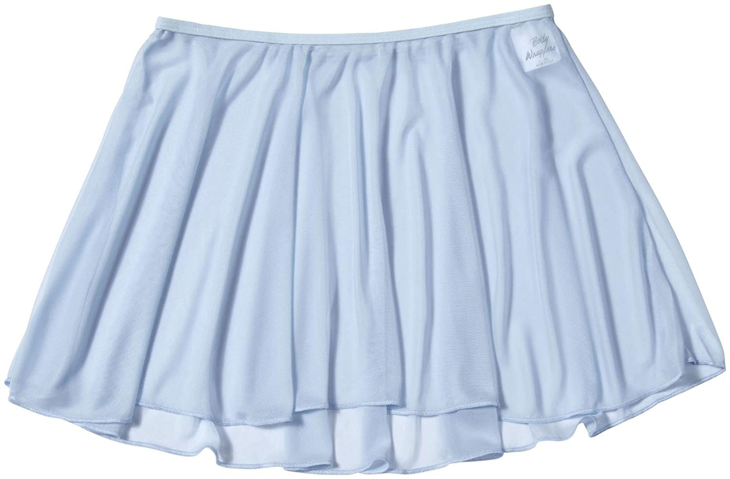 Body Wrappers Girls Chiffon Pull-On Dance Skirt (BW198)